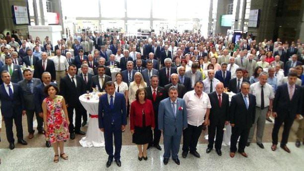 İstanbul Adliyesi'nde yeni yıl töreni