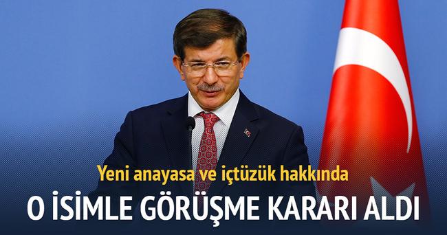 Davutoğlu, TBMM Başkanı'ndan randevu talebinde bulundu