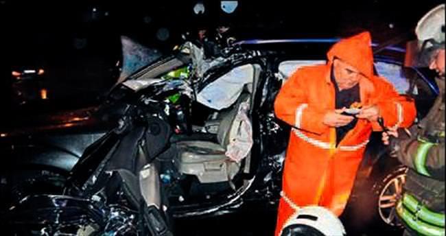 5 trafik kazasında 1 ölü 13 yaralı var