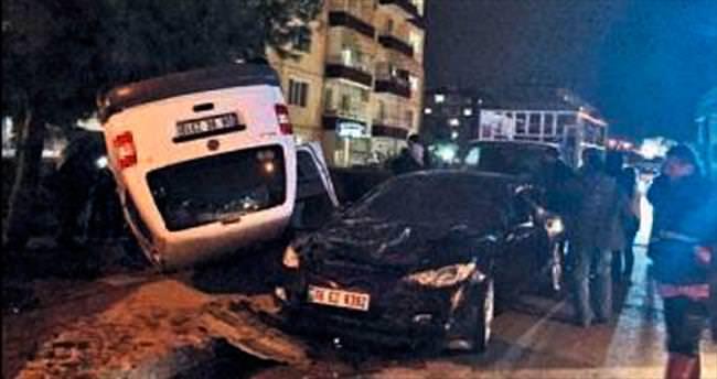 Eryaman'da trafik kazası: 4 yaralı