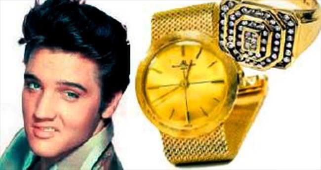 Elvis'in mücevherleri açık artırmada