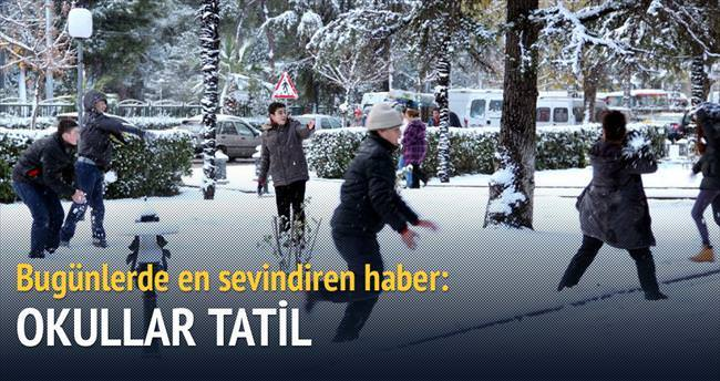 Okullar tatil