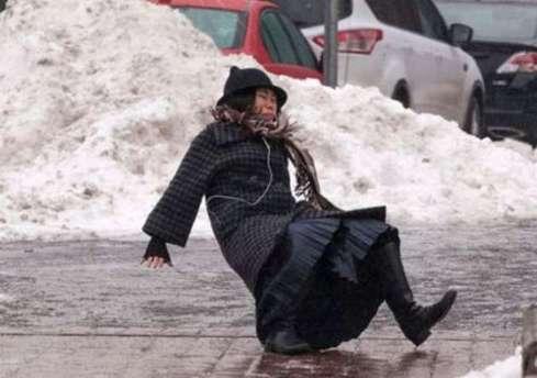 Karda yürürken dikkat!
