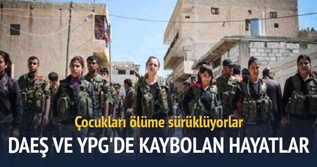 DAEŞ ve YPG'de kaybolan hayatlar