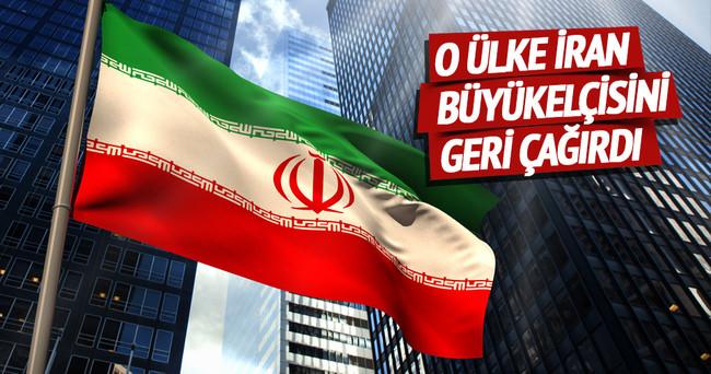 O ülke İran büyükelçisini geri çağırdı