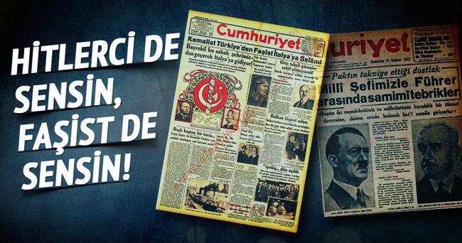 Cumhuriyet Gazetesi, Hitler'in Türkiye'deki en fanatik destekçisi