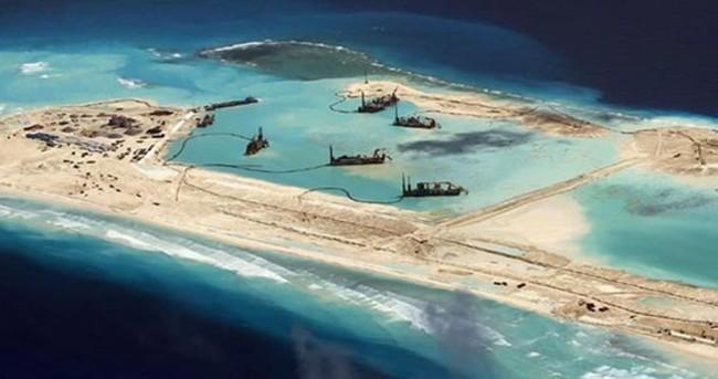 Vietnam ve Filipinler'den Çin'in yapay uçak pistine tepki