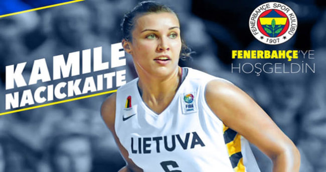 Ve Kamile Nacickaite Fenerbahçe'de