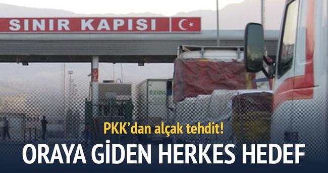 PKK'dan alçak tehdit!