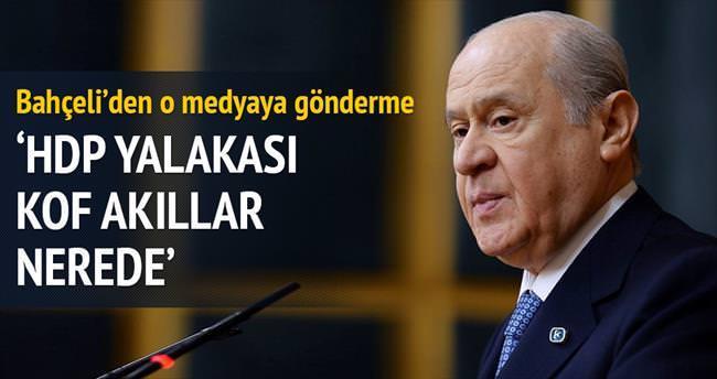'HDP yalakası kof akıllar nerede'