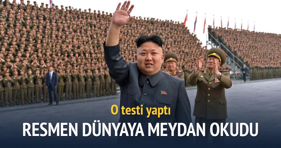 Kuzey Kore: Hidrojen bombasını başarıyla test ettik