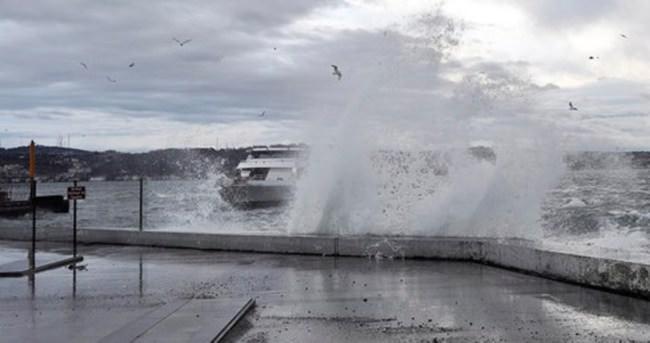 Meteoroloji'den 'lodos' uyarısı