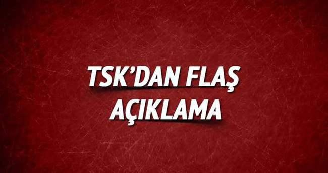 TSK'dan flaş açıklama