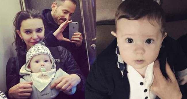 Hande Ataizi'nin oğlu Leon hastalandı