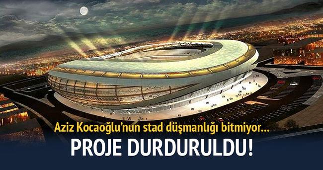 İzmir'de stadyum ihaleleri iptal!