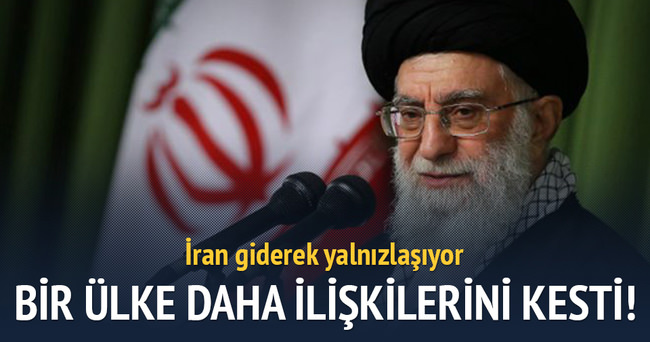 İran'la diplomatik ilişkileri kesti!