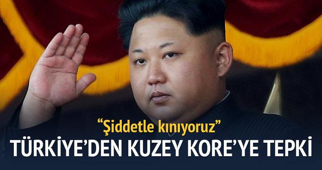 Dışişleri'nden Kuzey Kore'ye tepki