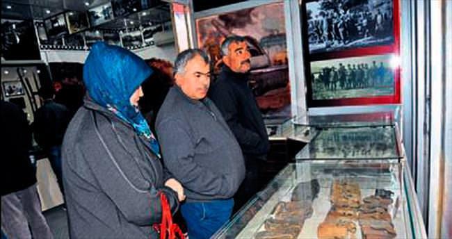 Çanakkale Müzesi Korkuteli'ye geldi