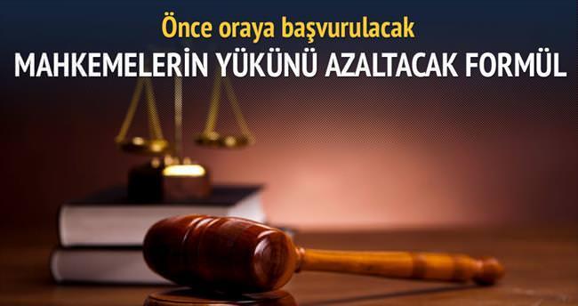 1 milyon davaya mahkemesiz son