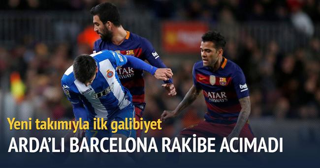 Ardalı Barcelona Espanyol'a acımadı