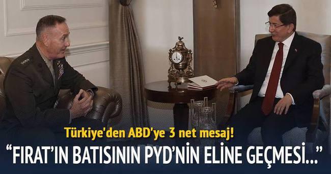 Türkiye'den ABD'ye 3 net mesaj