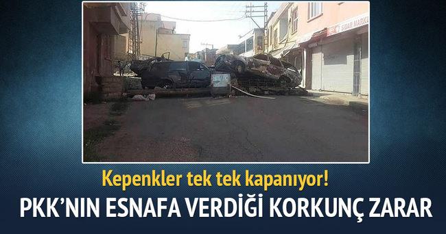 Diyarbakır'da terör nedeniyle esnaf 1 milyar TL zarar etti