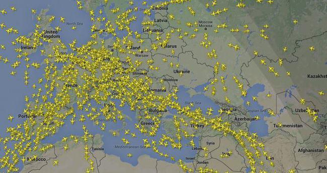 Hava trafiği arttı!