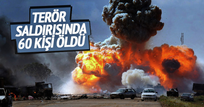 Libya'da terör saldırısı: 60 ölü