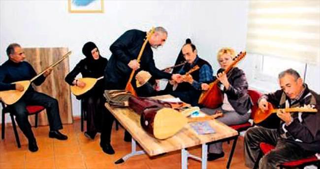 Çankaya Evi'nde türkü dinletisi
