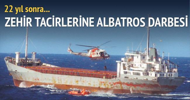 Albatros'a yakalandılar