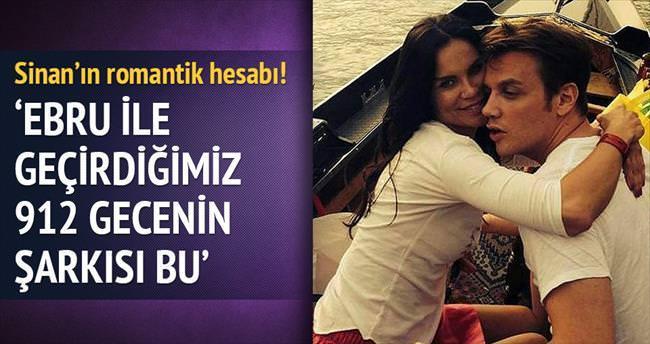 'Ebru ile geçirdiğimiz 912 gecenin şarkısı bu'