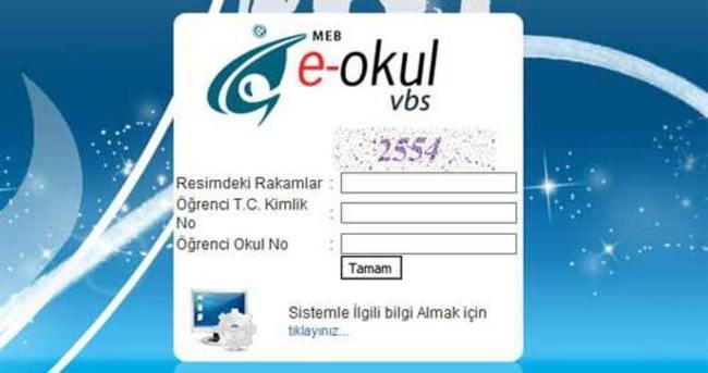 E-Okul öğrenci bilgi formu nasıl alınır!
