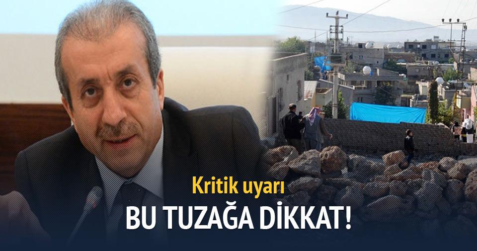 Mehdi Eker uyardı: Bu tuzağa düşmeyin!
