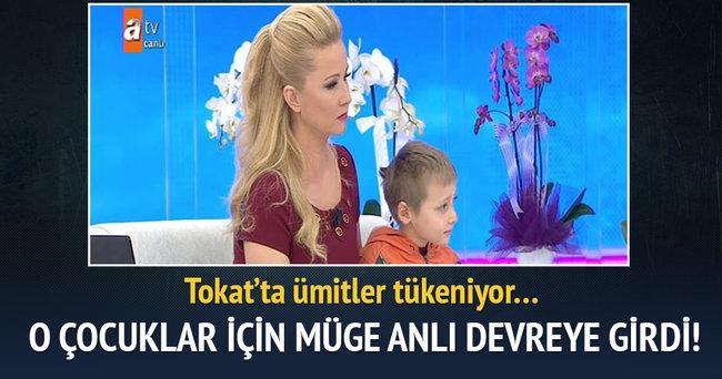 Tokat'ta kaybolan çocuklar için Müge Anlı devreye girdi!