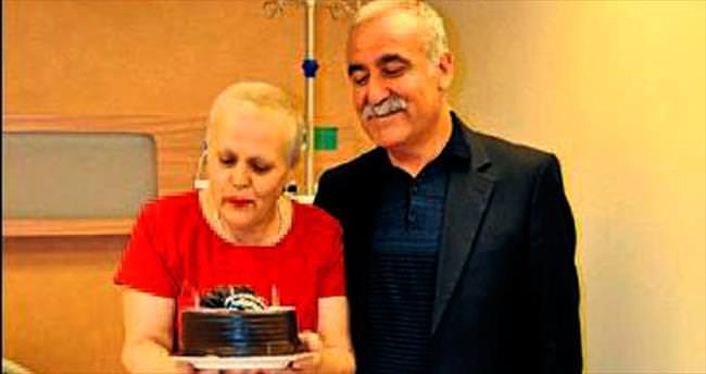 Kanserden kurtuluşu yıldönümünde kutladı