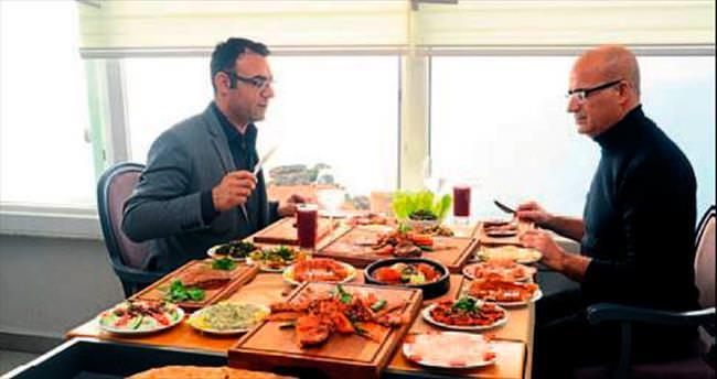 Büyülü manzarada, büyülü Hatay mutfağı