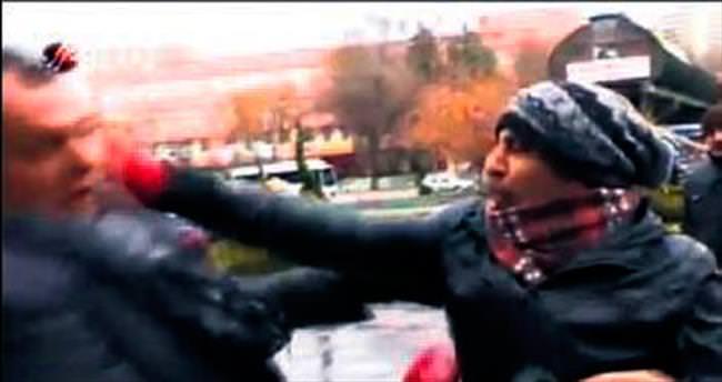 ODTÜ'de Beyaz TV muhabirine saldırı