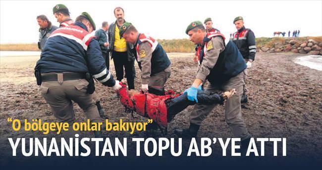 Yunanlar mülteci ölümünde topu AB'ye attı