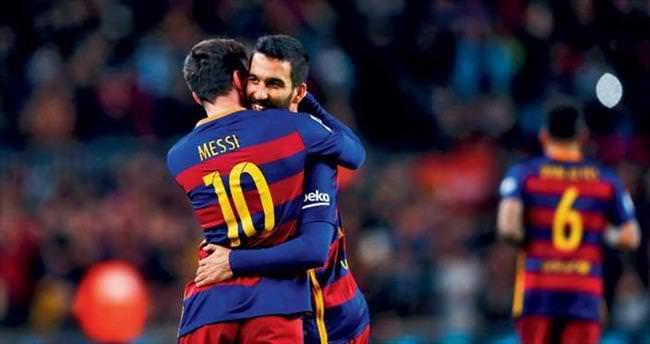 Messi ile oynamak için; tırnaklarımla kazıyıp geldim