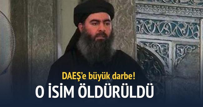 DAEŞ'in iki numaralı ismi öldürüldü