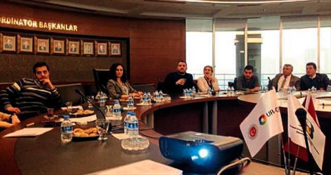 Proje paydaşları AKİB'de toplandı
