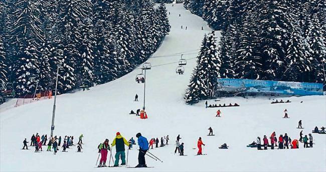 Rodop Dağları'nda kayak serüveni