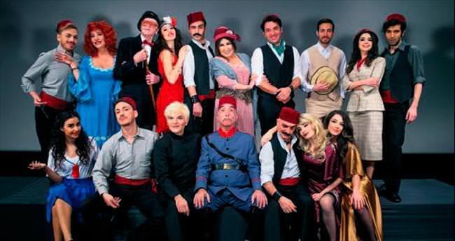Eski Pera hayatı 'İstanbulname' müzikalinde