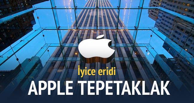 Apple borsada yerle bir