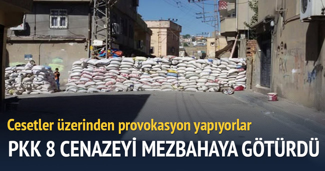 PKK 8 cenazeyi mezbahaya götürdü