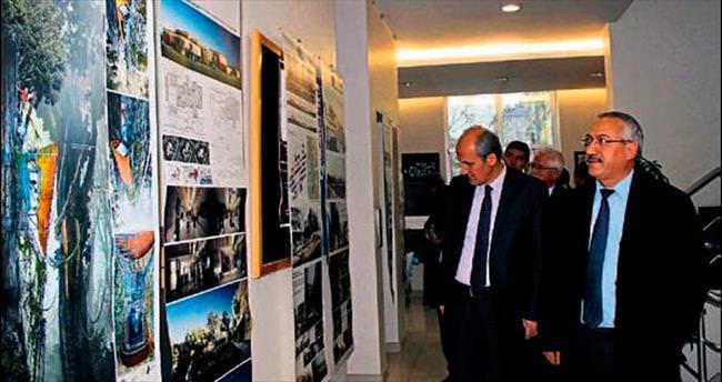 K.Maraş'ta 14. Ulusal Mimarlar Sergisi açıldı