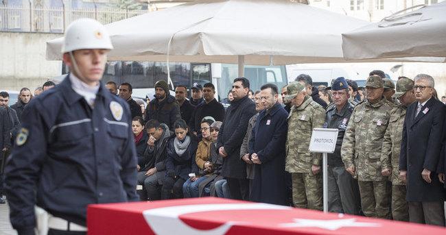 Şehit Buhari Ağçelik'in cenazesi törenle uğurlandı!