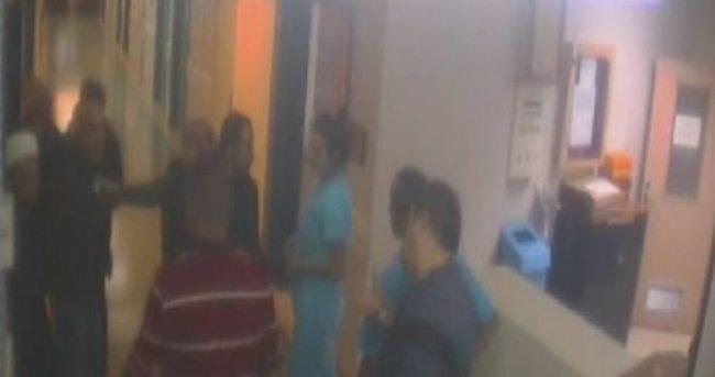 Hemşire hasta yakınları tarafından darp edildi