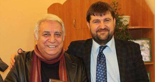 Cücenoğlu Ukrayna'dan ödül aldı