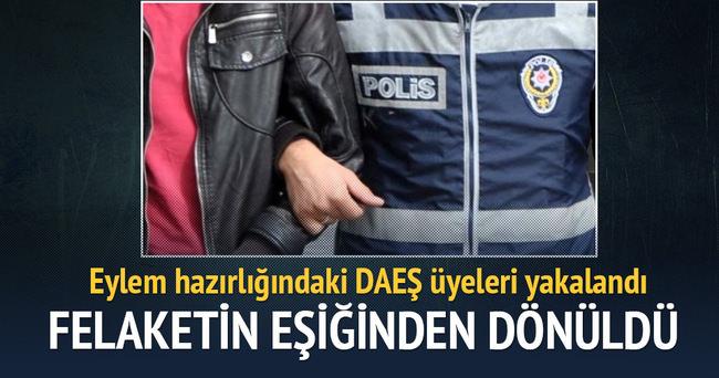 Diyarbakır'da eylem hazırlığındaki 3 IŞİD'li yakalandı